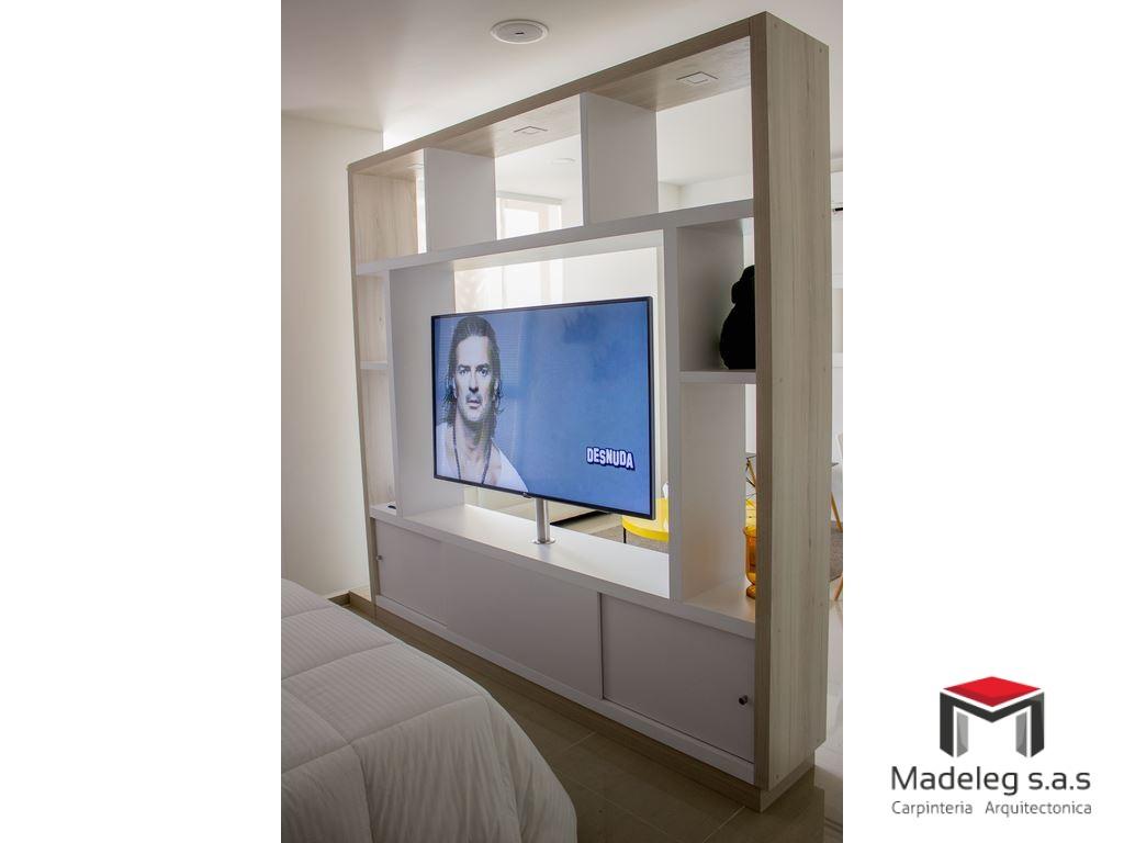 Muebles Tv 01 Madeleg Sas Carpinteria Arquitectonica Madeleg  # Muebles Girardot